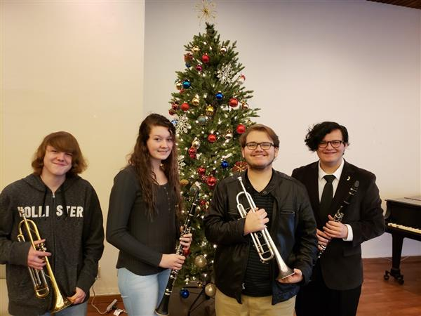 Tug Valley Band Competes for All State Band Memberships