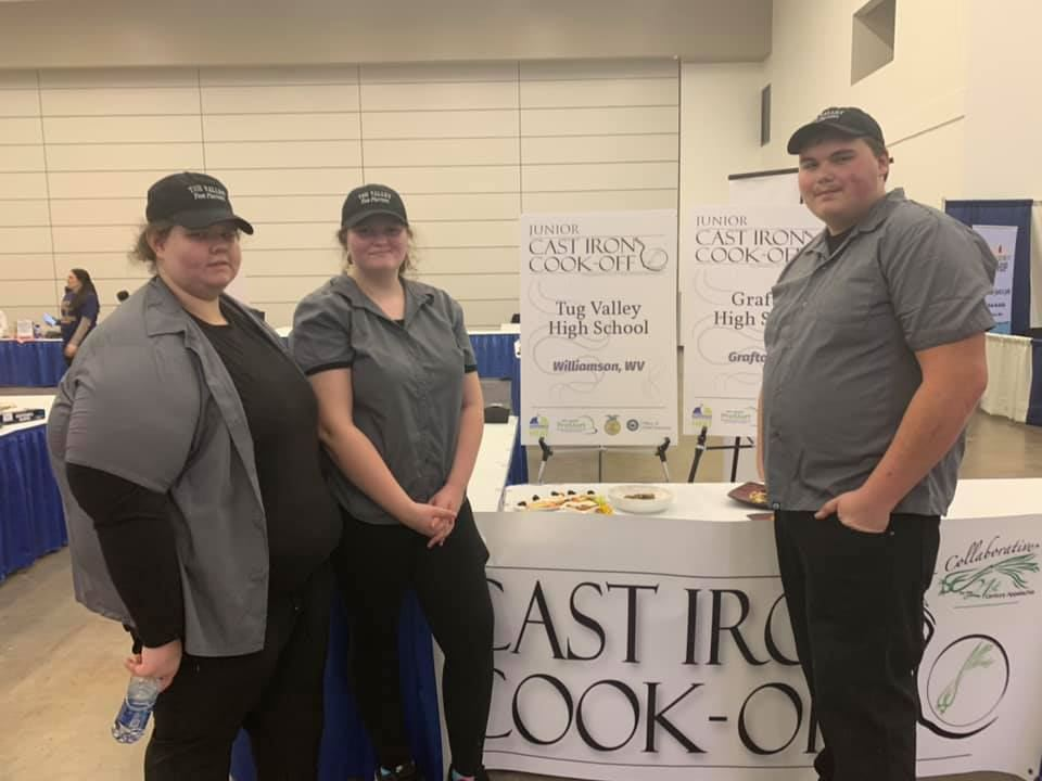 TVHS Pro Start Competes in 2020 Cast Iron Cook-Off