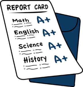 Students will receive their report cards on Friday March 15, 2019