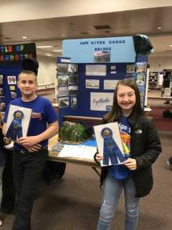 Ryder Sanders and Keeley Blair will attend the WV State Social Studies Fair in Charleston, WV.